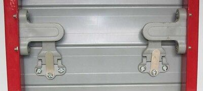 Bloccatapparelle Anti-diebstahl Automatisch Sicherheit Fenster Abs 2 Stk. - Grau