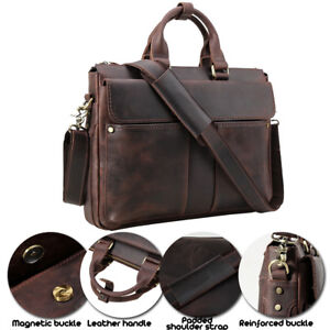 Vintage Genuine Leather Men s 15