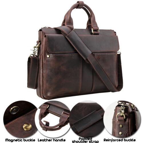 15 6 Style 6Vintage 15 Leather Men's 80OnPkw