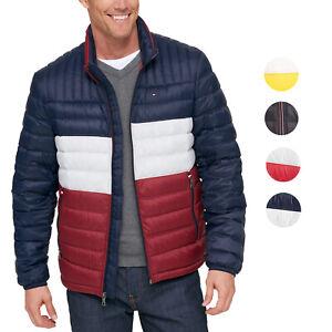 Tommy-Hilfiger-Herren-Ultra-Loft-isolierte-Packvolumen-Down-Puffer-Nylon-Jacke