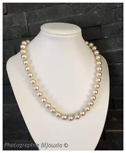 collier perles pour femme