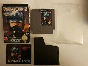 Robocop 2 Nintendo NES, Complete, Inc. Box Protector, VGC. , AUS. PAL, Rare