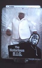 The Notorious B.I.G. Action Figure Beige Suit 2006 In Sealed Package By Mezco
