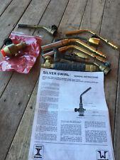 Silver Swirl Airco Isto Implala Lp Torch Set