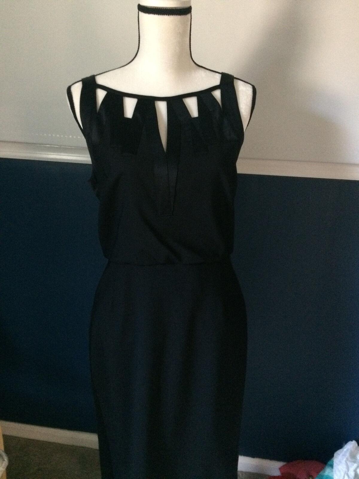 Adam by Adam Lippes Silk Cut Out Dress Sz 8
