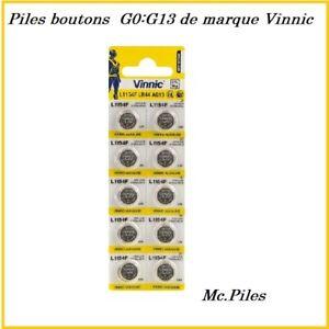 Piles-Cells-alkaline-buttons-G0-13-Vinnic-Free-Shipping