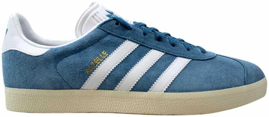 Adidas Gazelle bluee White-gold BZ0022 Men's Size 10