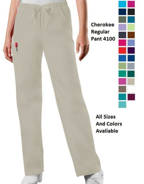 0dda79ebe86 Cherokee Scurbs WorkWear Unisex Regular Pant 4100 All Sizes and Colors  Avaliable