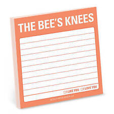 The Bee's Knees Sticky Note (Knock Knock Notes), Knock Knock | Paperback Book |