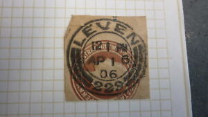 OLD-SCOTLAND-GB-POSTAL-HISTORY-SCOTTISH-POSTMARK-OF-LEVEN-1906-229