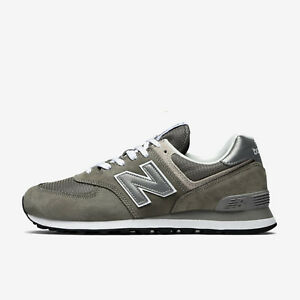 online store d2196 6e7ad Details about NEW BALANCE ML574EGG GREY SILVER BLACK WHITE ML574 574 574EGG  CLASSICS