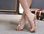 Women-039-s-Open-Toes-Rhinestones-PVC-Gold-Clear-Slingbacks-Sandals-Slim-High-Heels thumbnail 2