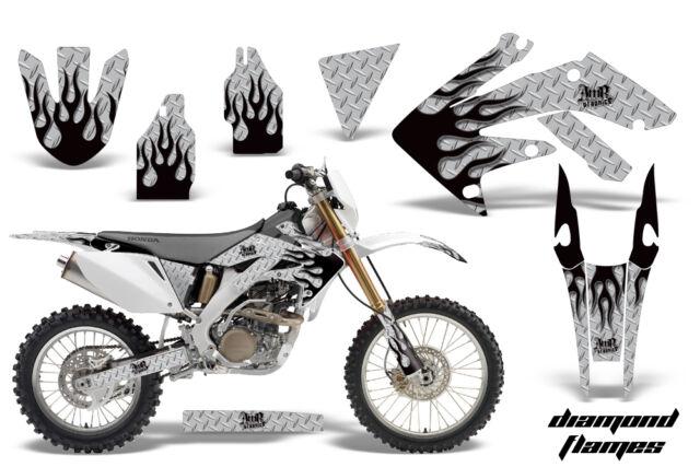 Dirt Bike Decal Graphics Kit MX Sticker Wrap For Honda CRF250X 2004 2017 DF K S