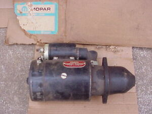 1954-1955-1956-Dodge-Fargo-Truck-STARTER-For-V8-Engine-With-Solenoid-2T-3T