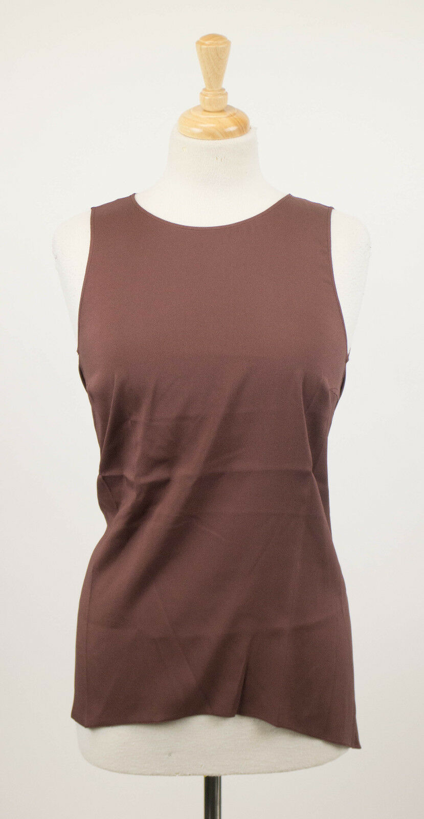 NWT BRUNELLO CUCINELLI Woman's Braun Silk Blend Blouse Shirt Top Größe M 805