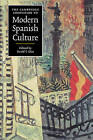 The Cambridge Companion to Modern Spanish Culture by Cambridge University Press (Paperback, 1999)