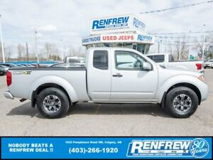 2018 Nissan Frontier PRO-4X King Cab 4x4, LOW KMS! Nav, Heated Seats, Backup Camera