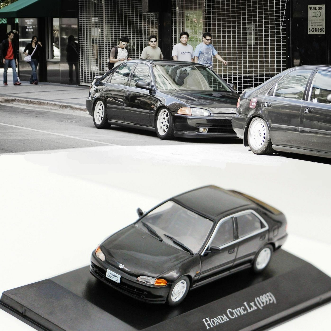 1 43 IXO Honda Civic LX EG9 1993 DIE CAST MODEL