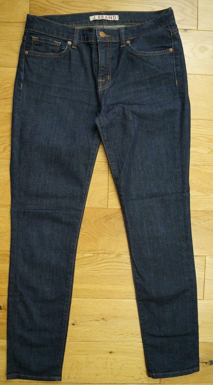 J BRAND Womens Pure Cut Dark bluee Denim Cotton Stretch Skinny Leg Jeans 29