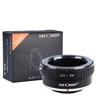 Contax Yashica C/y Lens To Fujifilm X-pro1 Fuji Fx X Mount Camera Adapter Ring