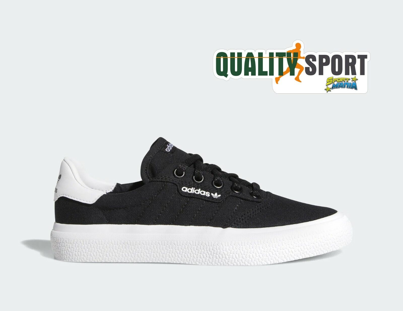 Adidas 3MC black Canvas shoes Ragazzo women shoes Sportive Sneakers DB3502 2019