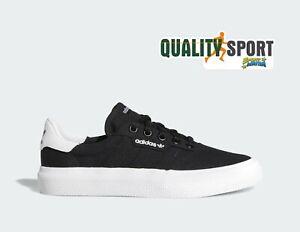 Detalles de Adidas 3mc Negro Lona Zapatos Niño de Mujer Deportivos  Zapatillas Db3502 2019
