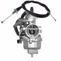 Honda Recon 250 Carburetor With Throttle Cable For Trx250 Es/te/th/rs Carb