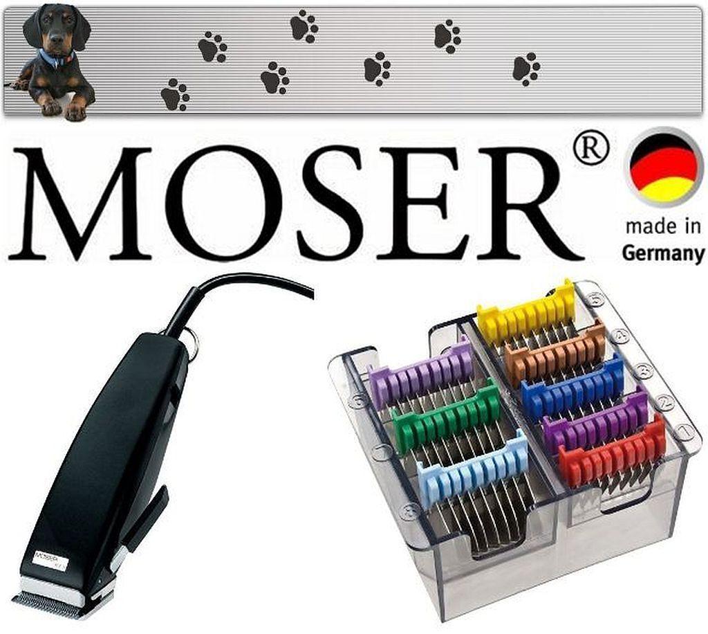 Moser Rex Tosatrice per Cani Professionale Trimmer + Acciaio Inox