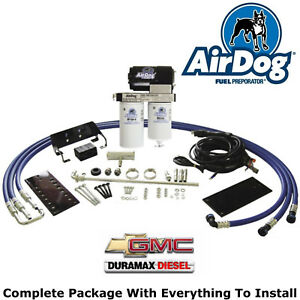 Details about AirDog Fuel Pump System 01-10 GM Duramax Diesel 6 6L 150GPH  Lift Pump + Filters