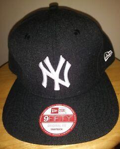NY Hat New York Yankees Cap New Era MLB 9FIFTY Adjustable Snapback ... d9ec21e7bed