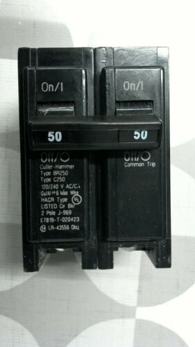 Cutler-Hammer BR250 2 Pole 50A **Free Shipping**