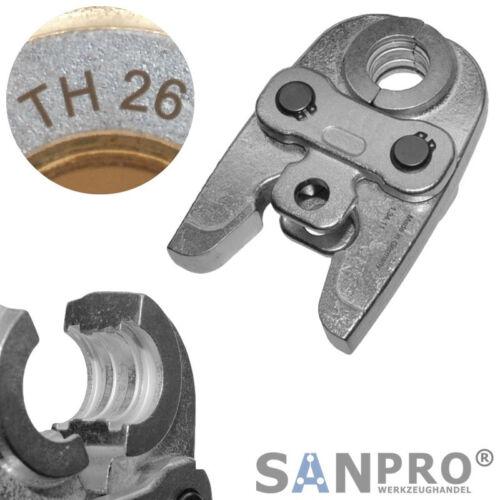 TH26 Profi Pressbacke Presszange Pressbacken Presszangen TH 26 für Verbundrohr