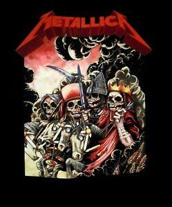 METALLICA-cd-lgo-THE-FOUR-HORSEMEN-Official-SHIRT-MED-New-kill-em-all
