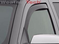 WeatherTech Side Window Deflectors Chevy Silverado HD Crew 2015-2016 - Dark