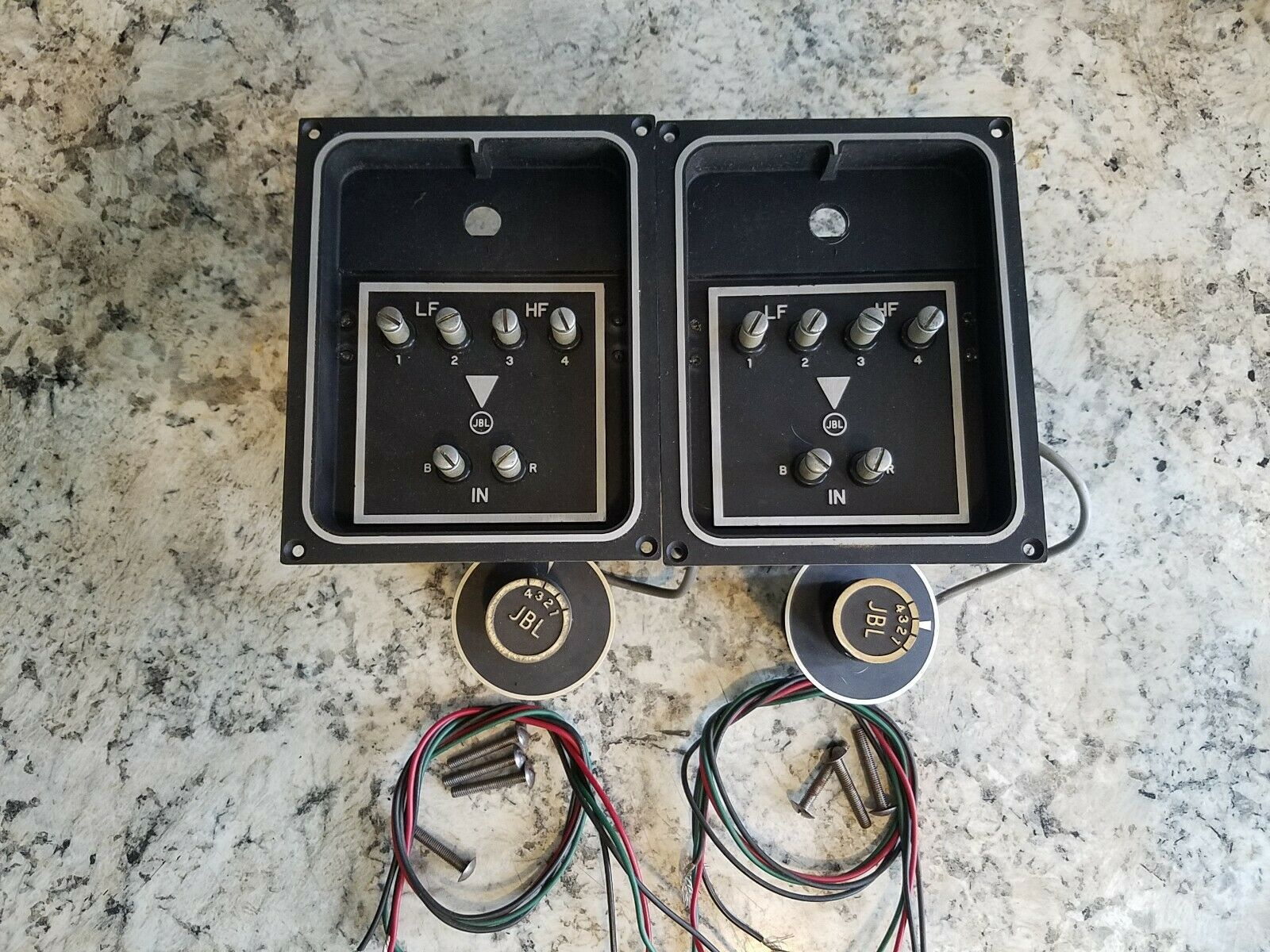 s l1600 - JBL N2400 Crossovers for Speakers 075 D130 D131 D123 C36 C38 & Others