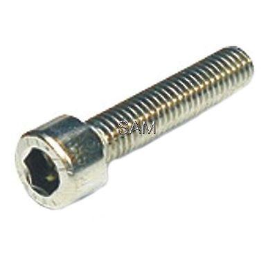 Zylinderkopfschrauben Innensechskant DIN 912 A2 Edelstahl V2A M8X10 bis M8X50