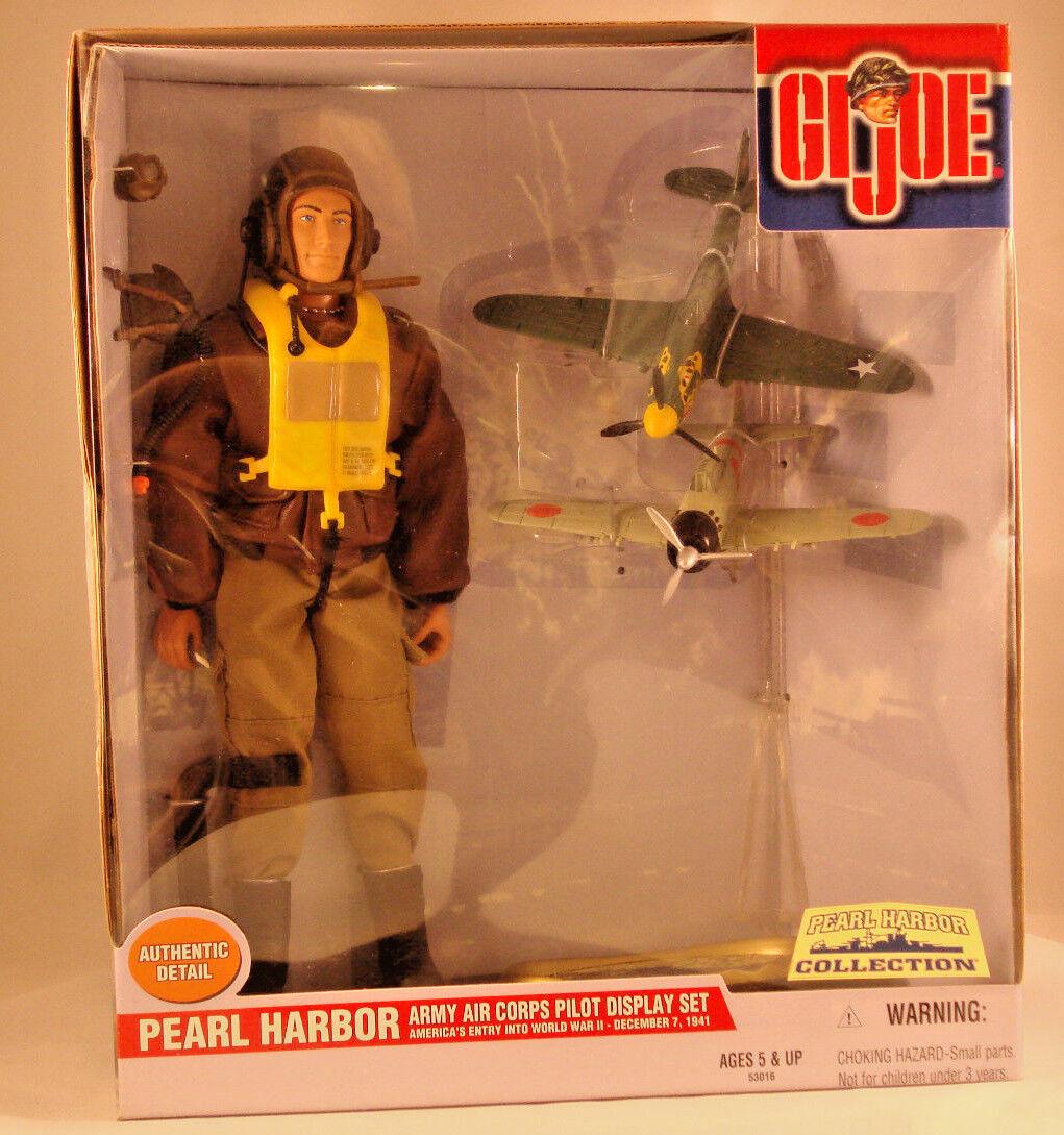 G.I Joe Pearl Harbor Army Air Corps Pilot Display Set  53016 - 2000 - New in Box