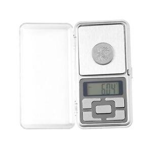 200g-0-01g-Mini-Digitalanzeige-Pocket-Gem-Wiegen-Waage-Balance-AA