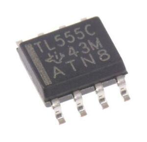 Texas-Instruments-TLC555CD-Temporizador-Circuito-2MHz-8-pin-Soic