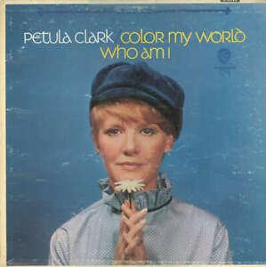 Petula-Clark-Color-My-World-Who-Am-I-LP-Album-Vinyl-Schallplatte-178606