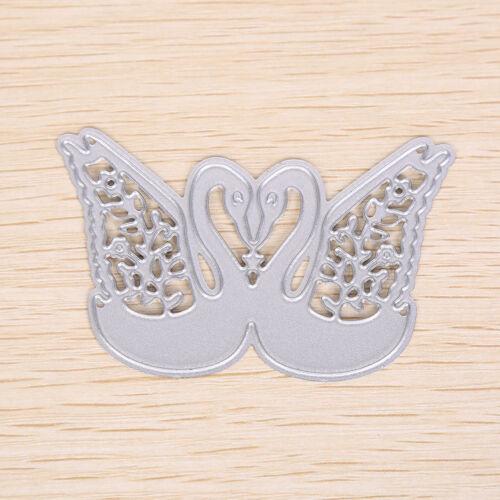 Swan Metal DIY Cutting Dies Stencil Scrapbook Album Paper Card Embossing CraftZY