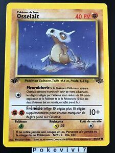 Carte-Pokemon-OSSELAIT-50-64-Commune-Jungle-Wizard-EDITION-1-FR-NEUF