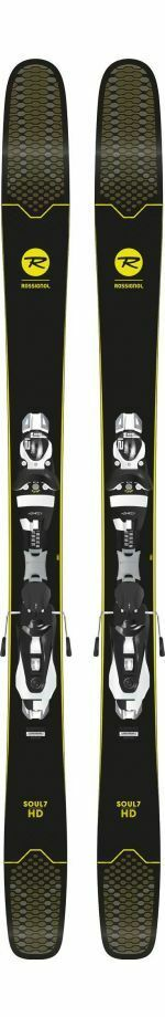 Skiing Freeride ROSSIGNOL SOUL 7 HD KONNECT + NX 12 K New Model 2018 19