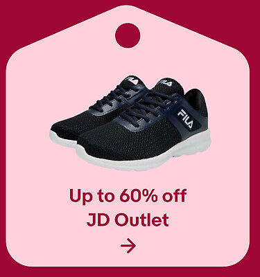 Up to 60% off JD Outlet