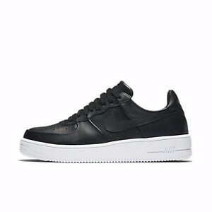 nike air force 1 one low ultraforce leather black white. Black Bedroom Furniture Sets. Home Design Ideas