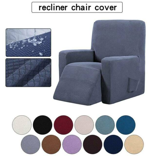 1pc Stretch Recliner Slipcover Fit For Furniture Lazy Boy Sofa Chair Cover Ef