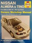 Nissan Almera and Tino Petrol Service and Repair Manual by Peter T. Gill (Hardback, 2007)