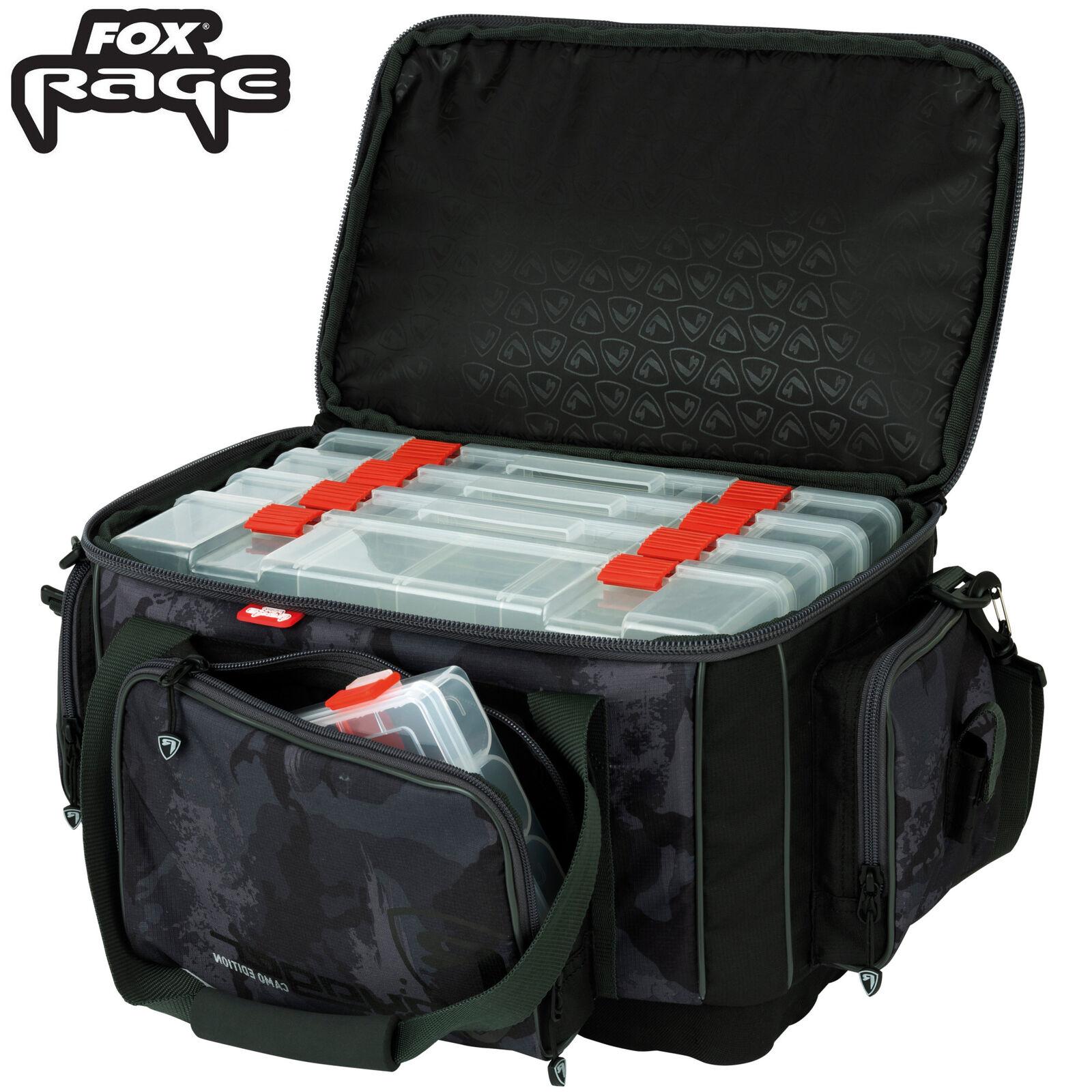 Fox Rage Camo Large Carrybag - Kunstködertasche, Spinntasche, Raubfischtasche
