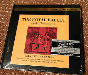 THE-ROYAL-BALLET-GALA-PERFORMANCES-ERNEST-ANSERMET-24-BIT-K2-HD-2-CD-NUMBERED