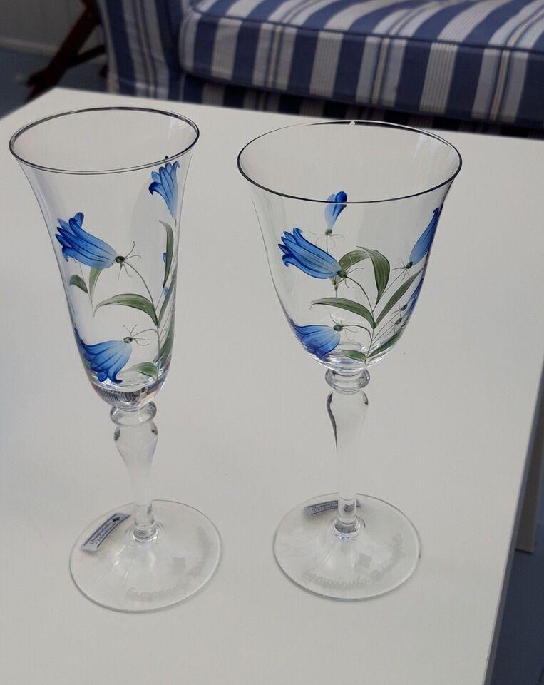 Glas, Champagne glas, Christineholm Campalua